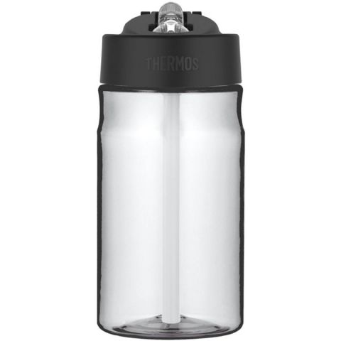 Thermos Clear BPA Free Plastic Hydration Water Cup Bottle 355ml